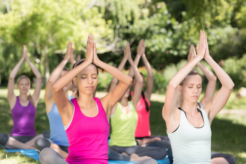 Yoga On The Cheap Houston S Best Free Fitness Classes Houstonia Magazine