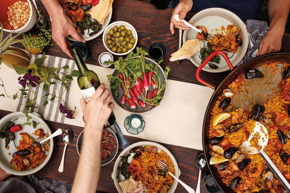 The New Cookout How To Host The Perfect Summer Paella