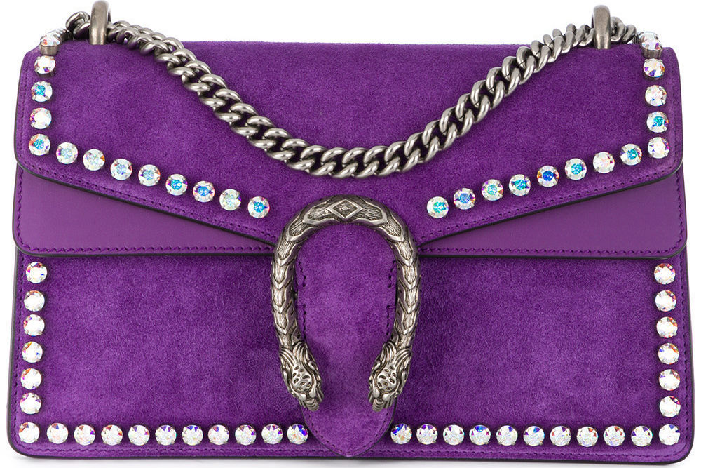Gucci  small dionysus crystal shoulder bag   3 980 available at farfetch.com ixptmi
