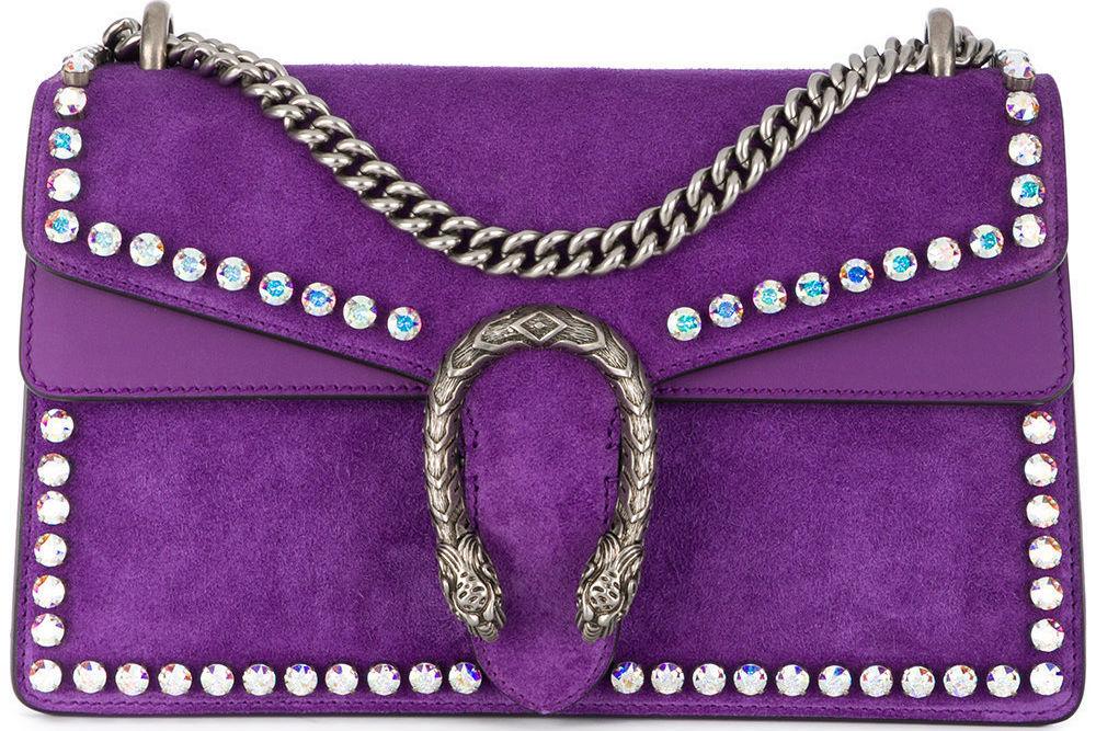 Gucci  small dionysus crystal shoulder bag   3 980 available at farfetch.com ixptmi