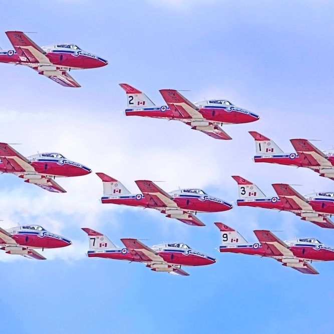 Oregon international airshow   snowbirds nrwpbm