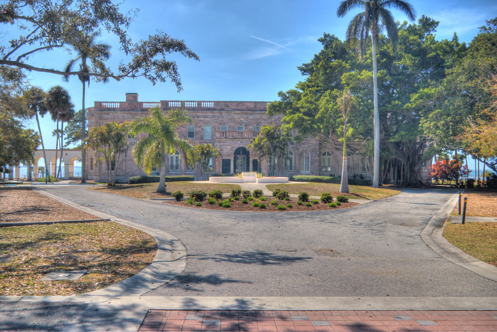 The Charles Ringling Mansion at New College of Florida