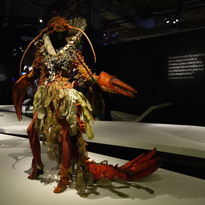 Wearableart lobster hrcsjh