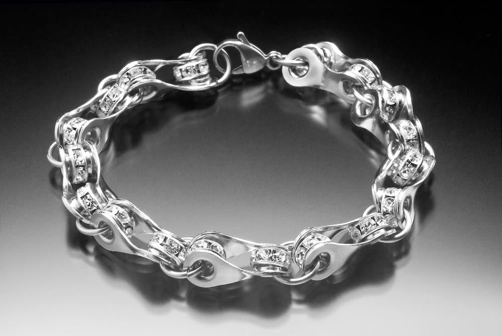 Crystal bling bracelet ejnwqi