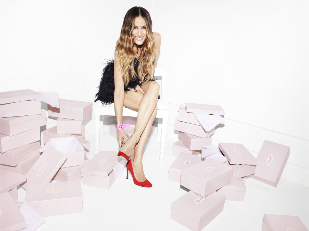 56a29db698 Sarah Jessica Parker Is Hosting a Warehouse Shoe Sale for MD Anderson