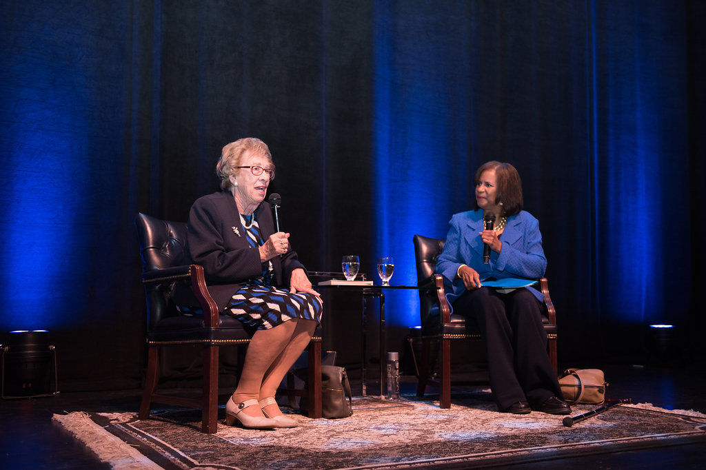 10  eva schloss and melanie lawson riszer