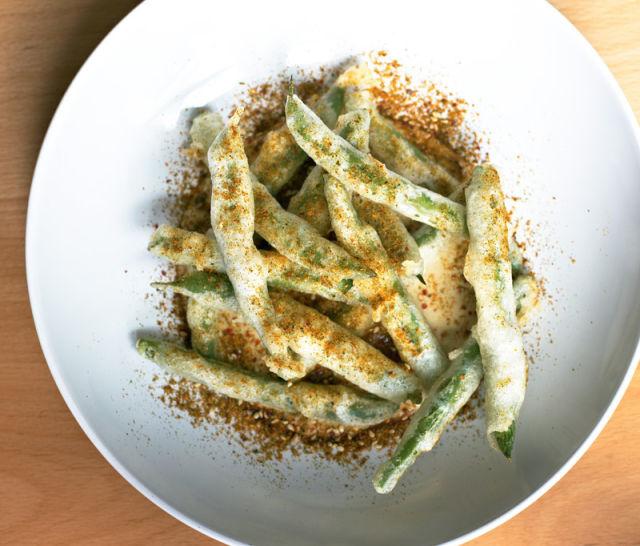 Aviary tempura green beans vnbxbp