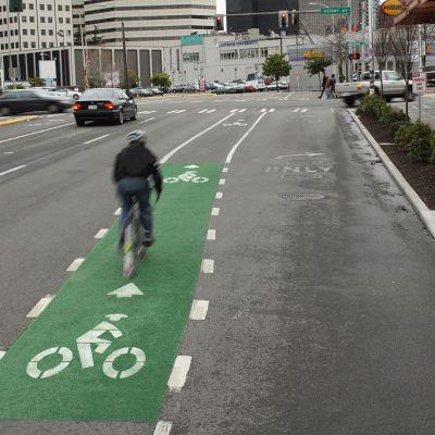 Seattle bike lane seikij