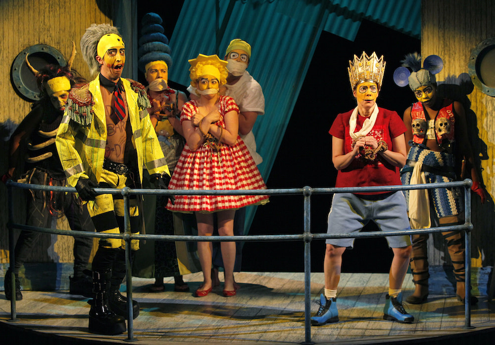 Mr  Burns, a Post-Electric Play' Mixes Memories and Mania