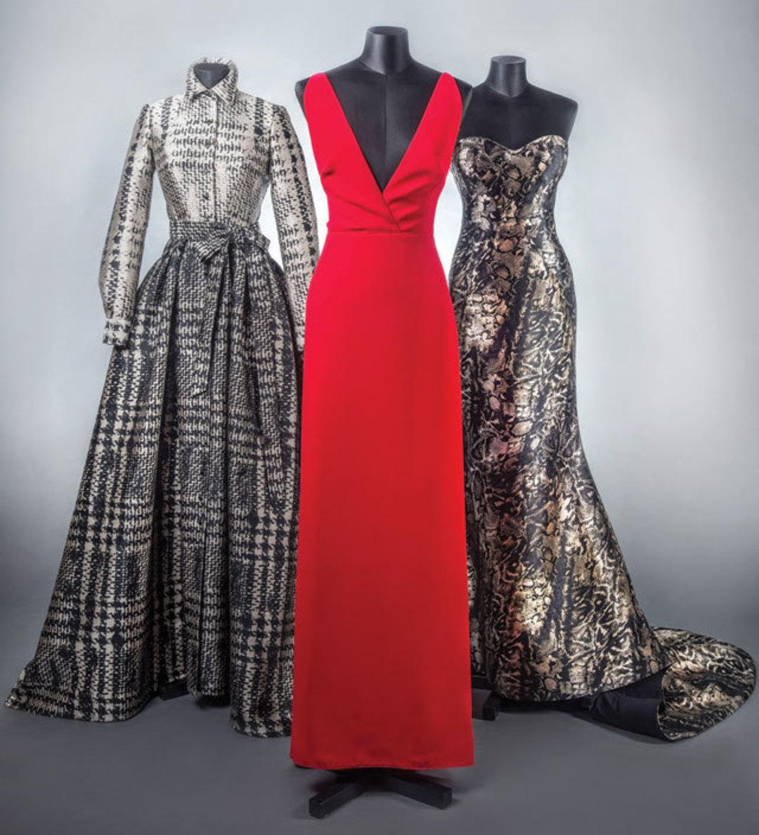 Three Gowns For Gala Season