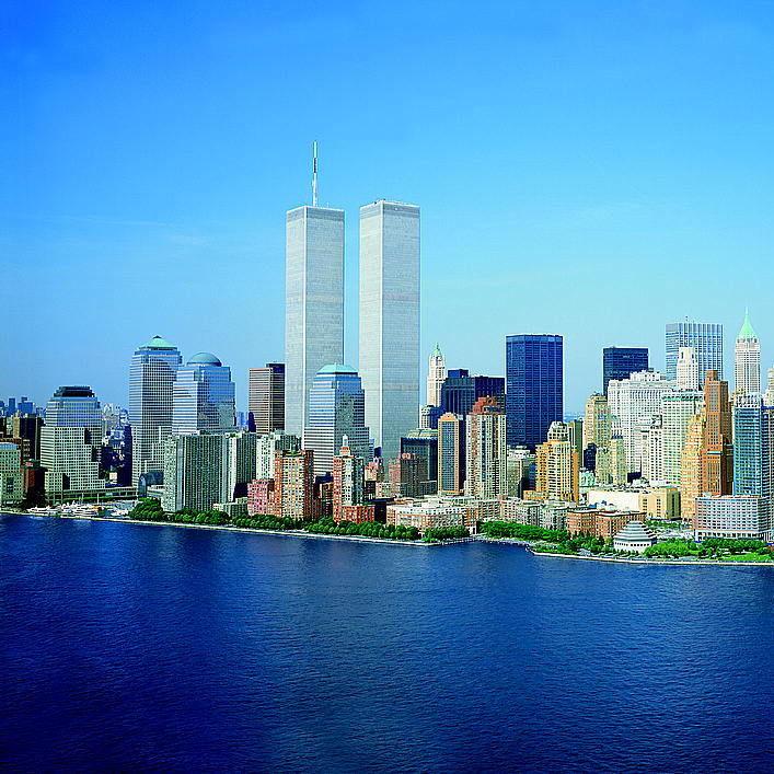 Loc lower manhattan new york city world trade center august 2001 amlqo1