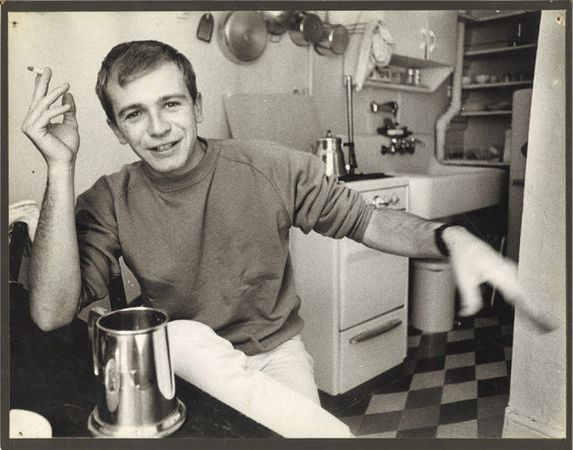Terrence McNally in his 20s