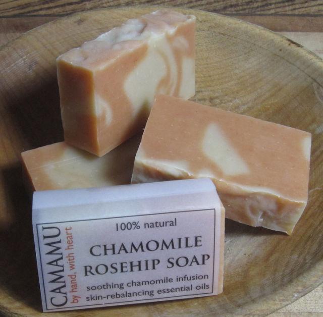 Chamomile rosehip soap mtb9uo