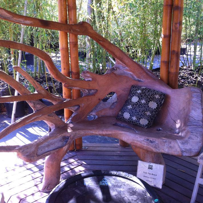 Bamboo craftsman teak bench ictgdt