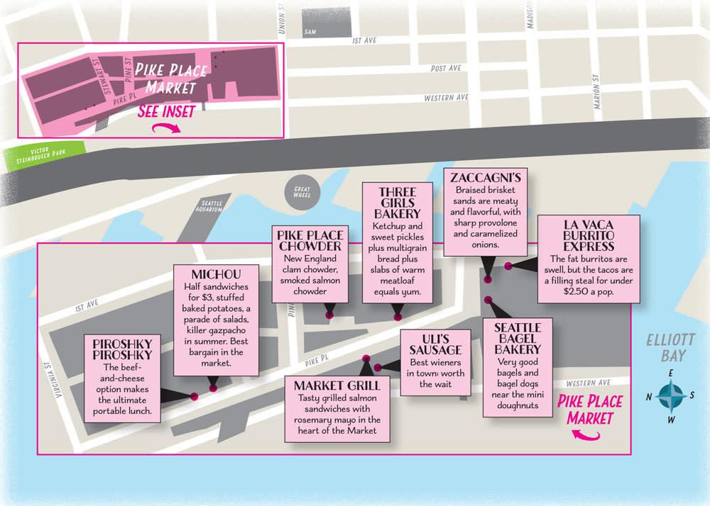 Pike place lunch spots map jgqecv