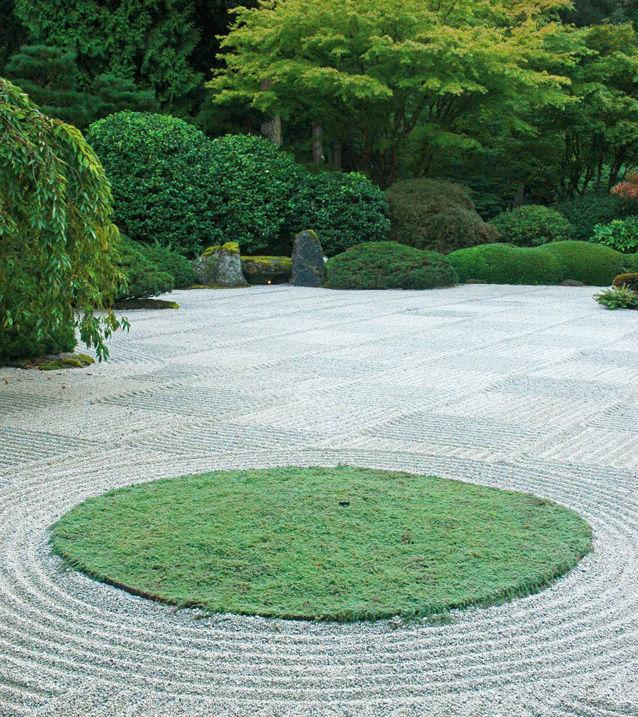 Japanese  zen garden vaxmfe