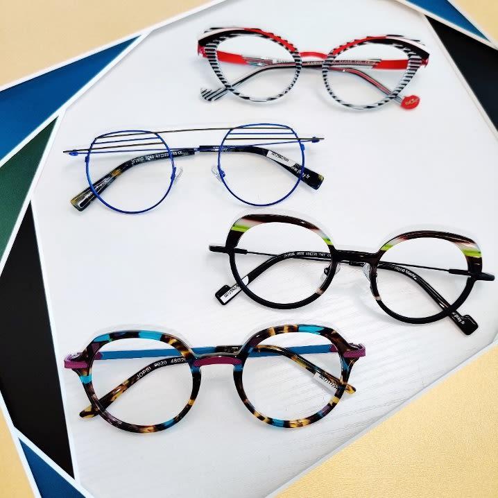 Modern eyeglass frames