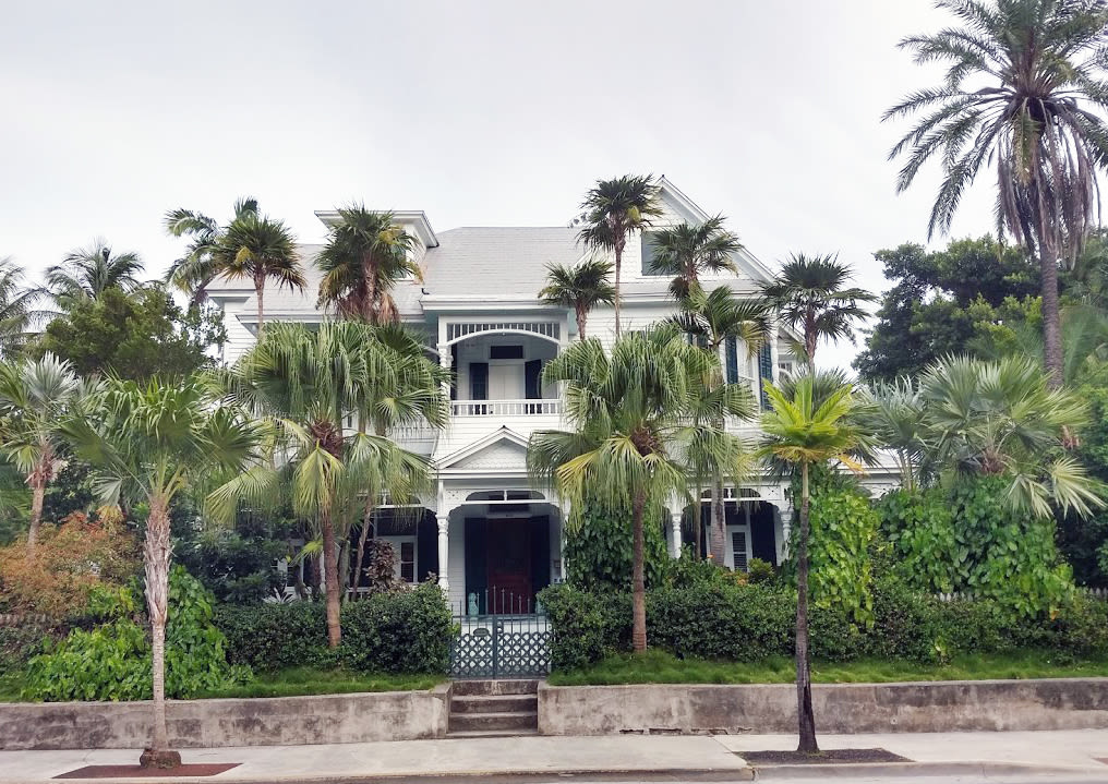 A classic home in Old Key West.