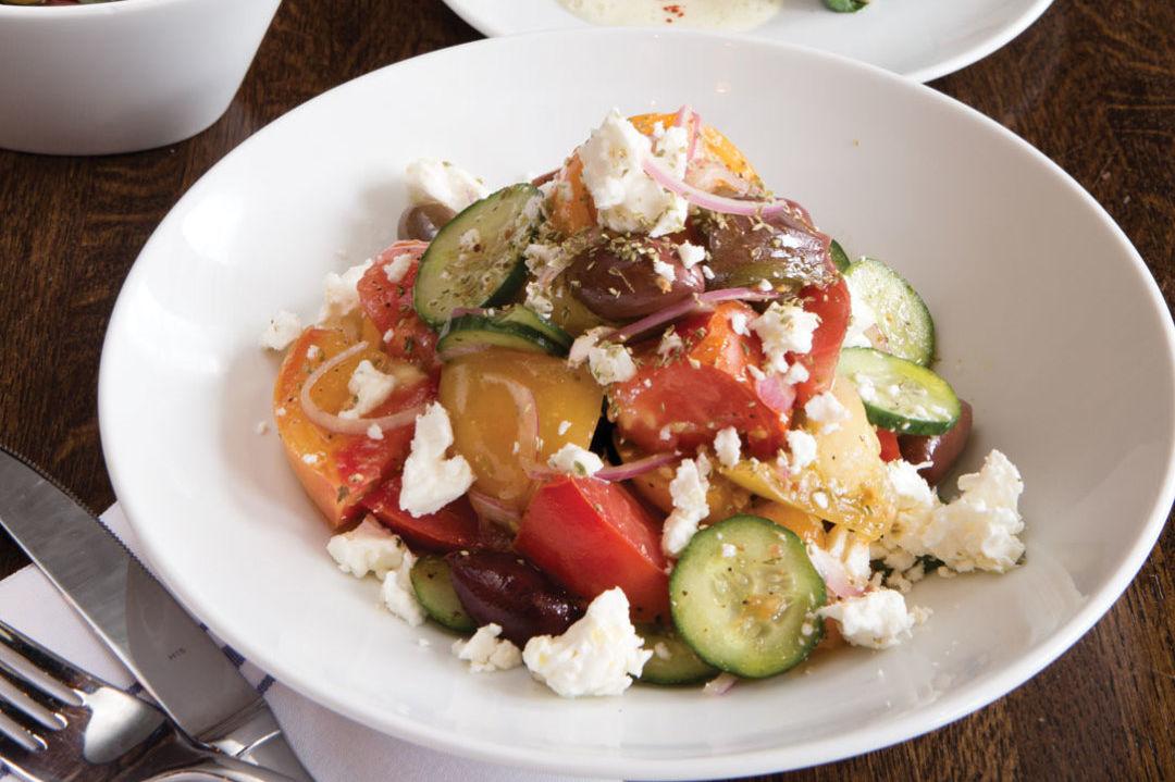 1015 best new restaurants helen greek food wine salad dolmades zwnav1 ryqnck