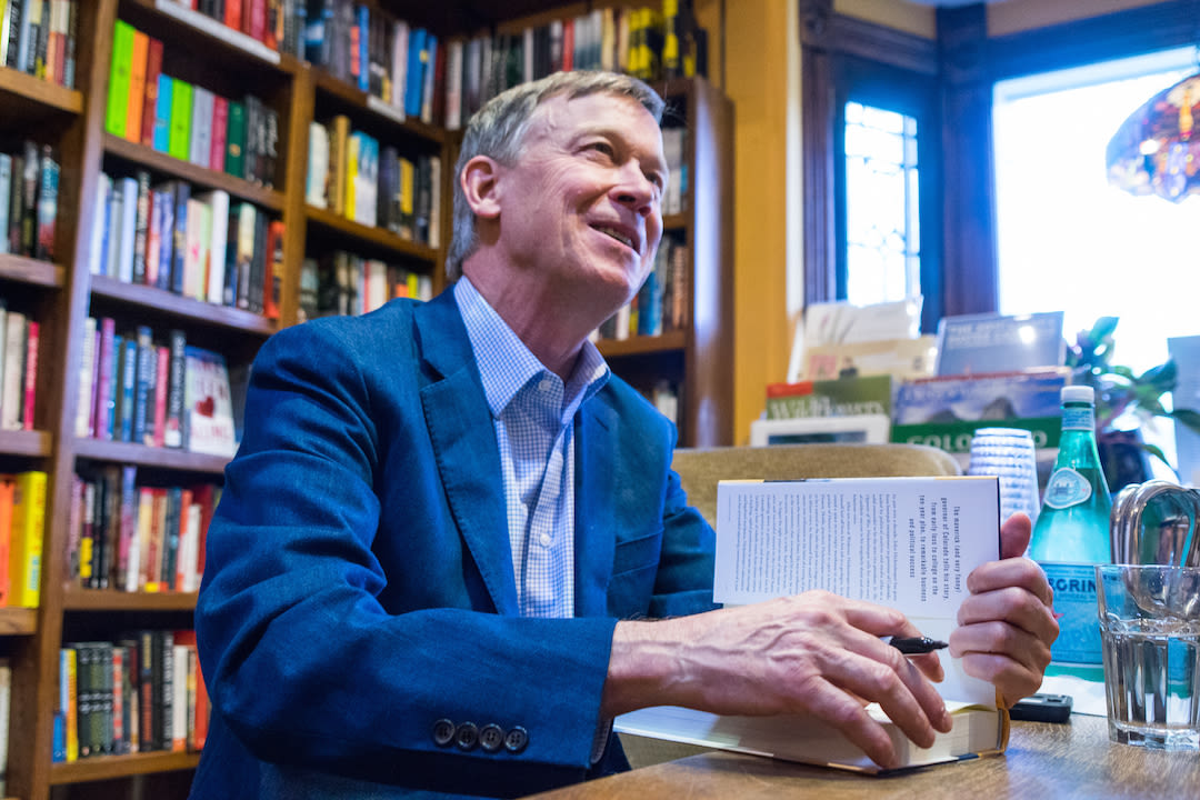 John hickenlooper explore booksigning umjt6z