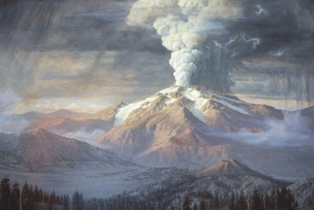 Crater lake rockwood painting xbwkpy hli8pq