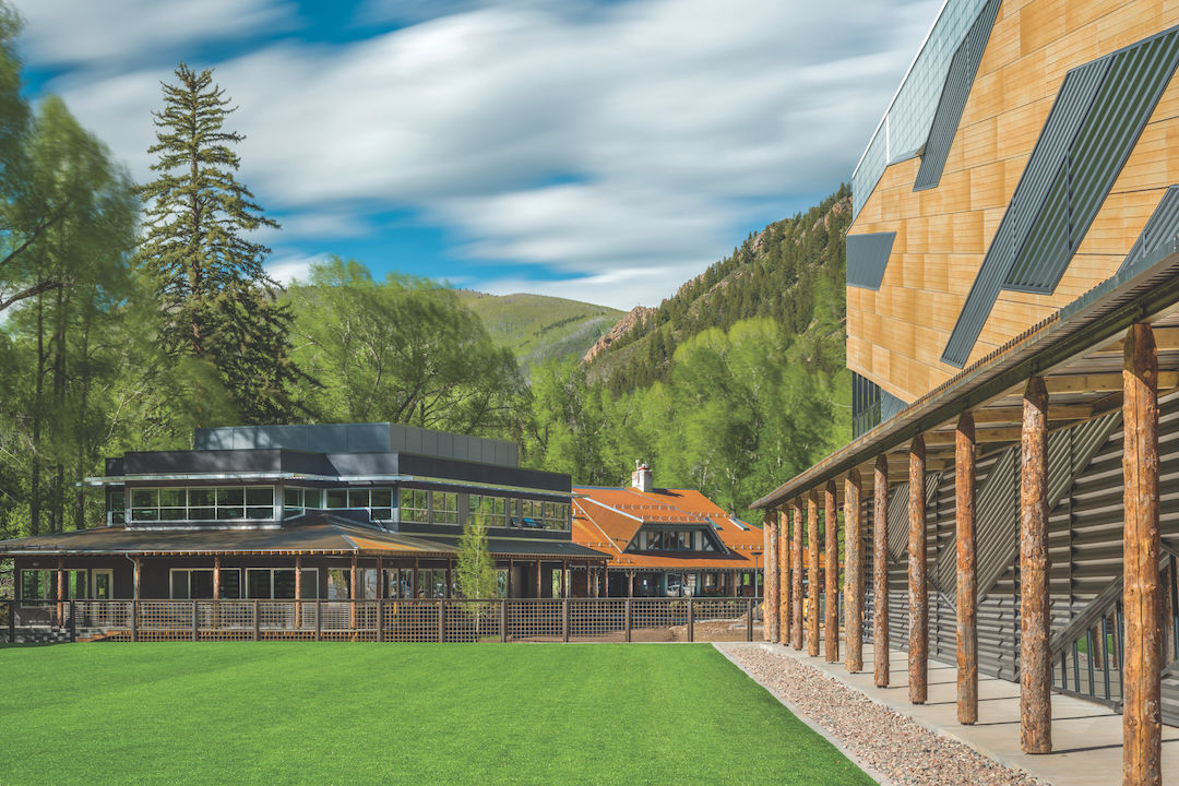 too cool for school a pair of local campuses gets cutting edge designs aspen sojourner