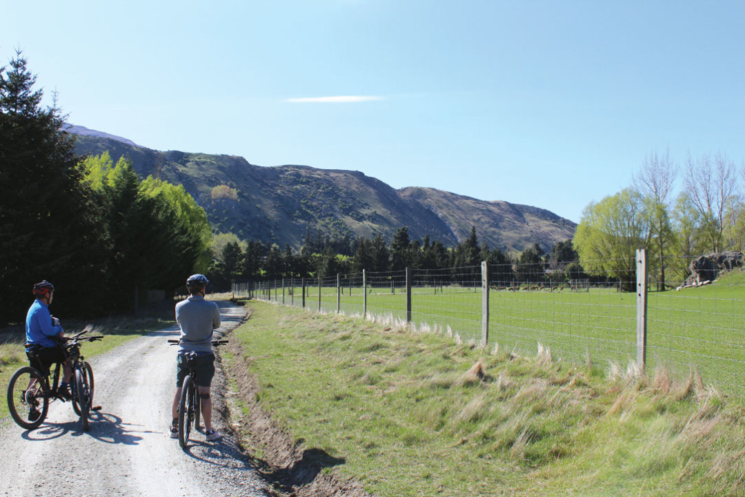 1215 road new zealand queenstown by bike td522l