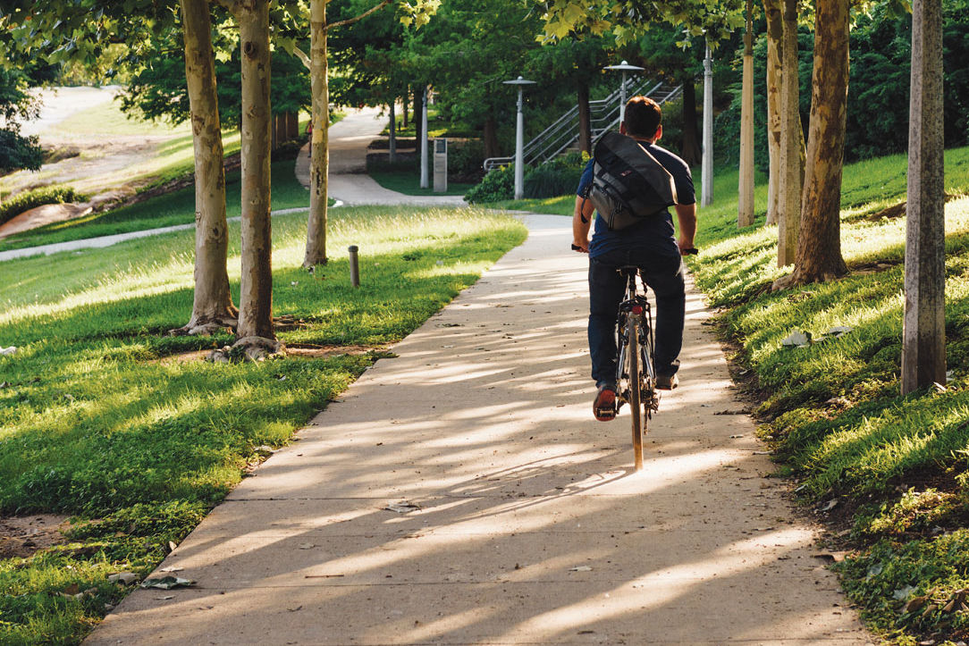 0715 bicycling buffalo bayou park wxo0du