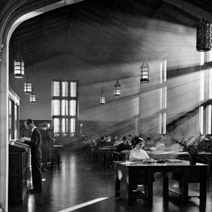 Reed library portland vintage obpqrk