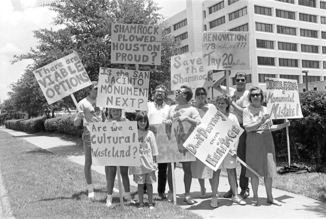0715 history shamrock hotel protestors sytqtv