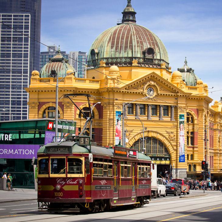 Flinders street station  melbourne  australia uehrid