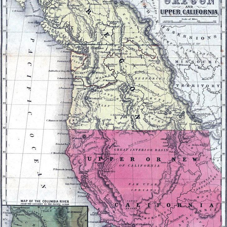 Map100  1846 oregoncowperthwaite zmgjqd