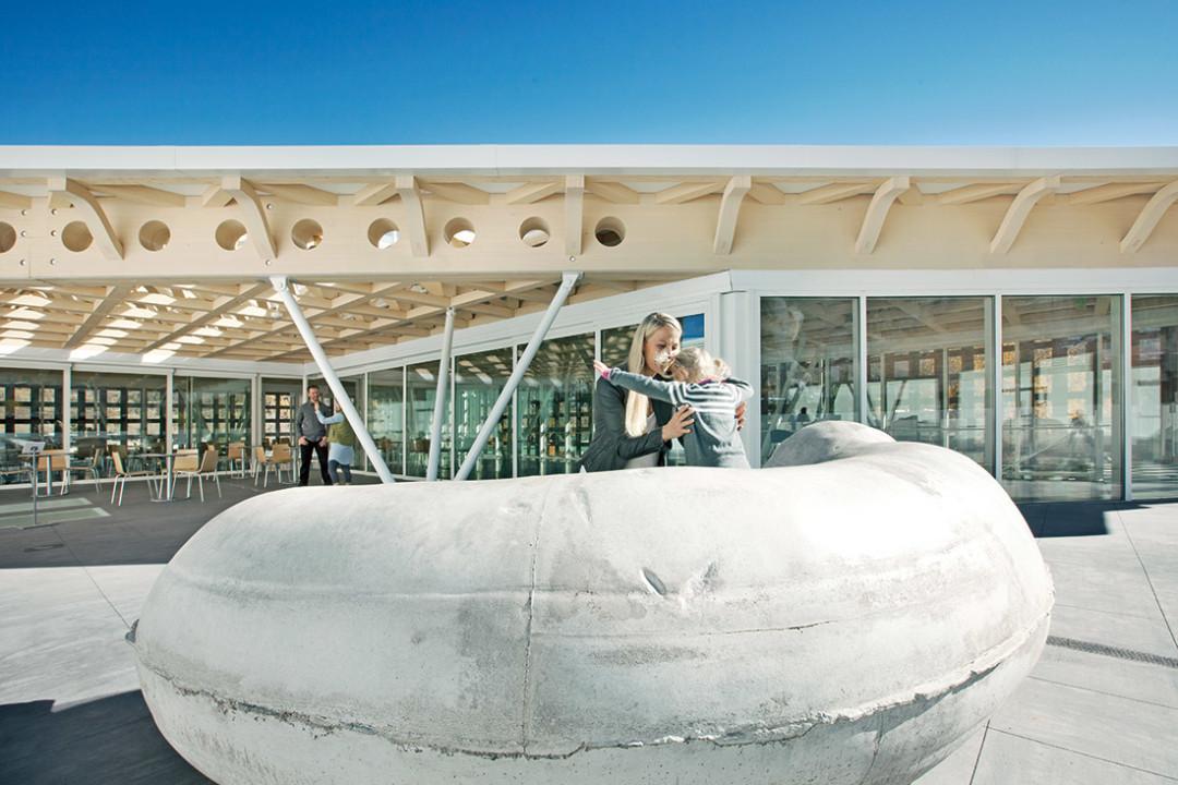 1114 aspen art museum gallery roof deck vt66w9