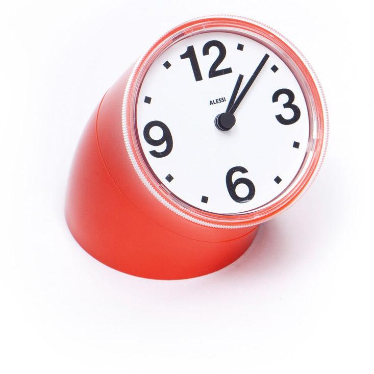 Alessi cronotime desk clock j51ugb