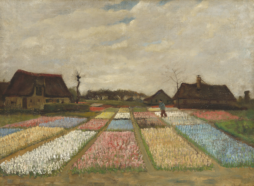 Gogh flower beds in holland rwv4a5