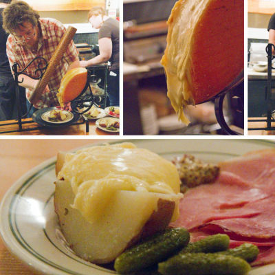 Raclette night sqneqq