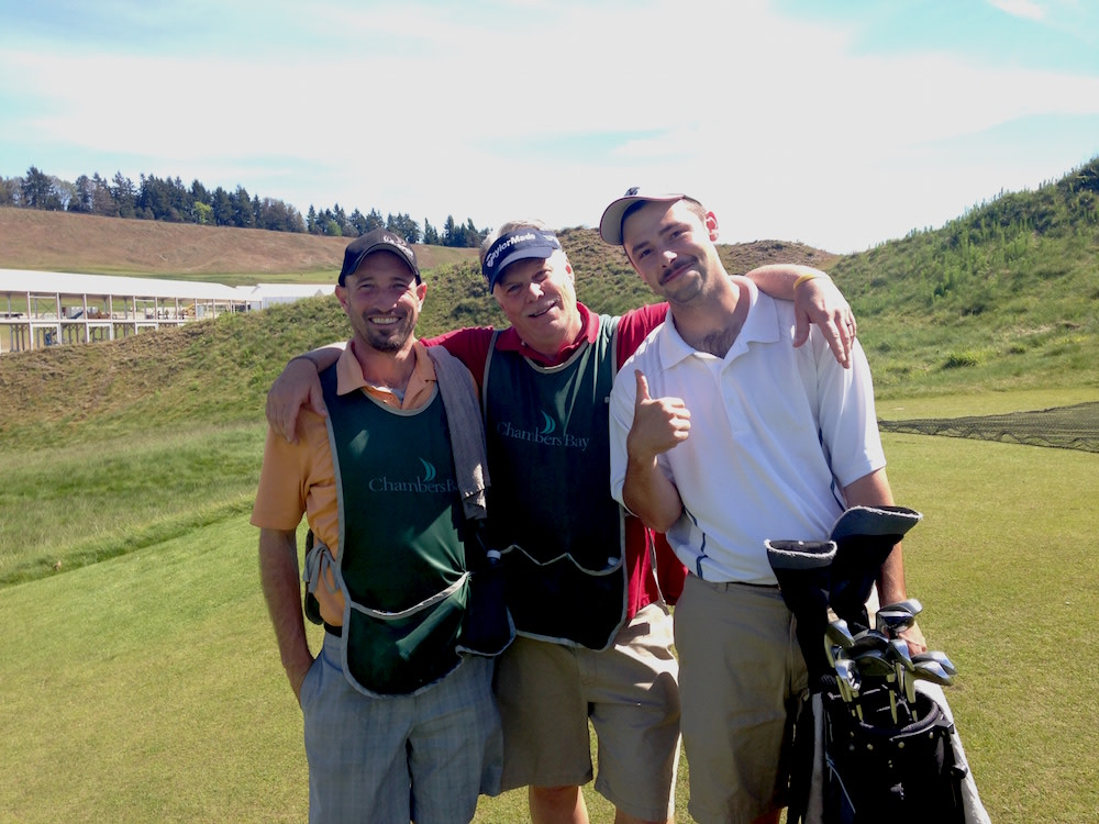 Chambers bay us open caddies vdr4of