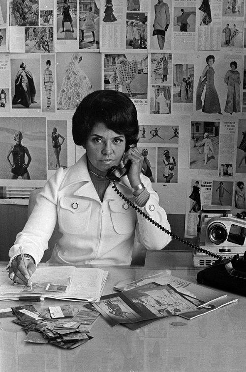 Eunice johnson at work 1970 jzbgud