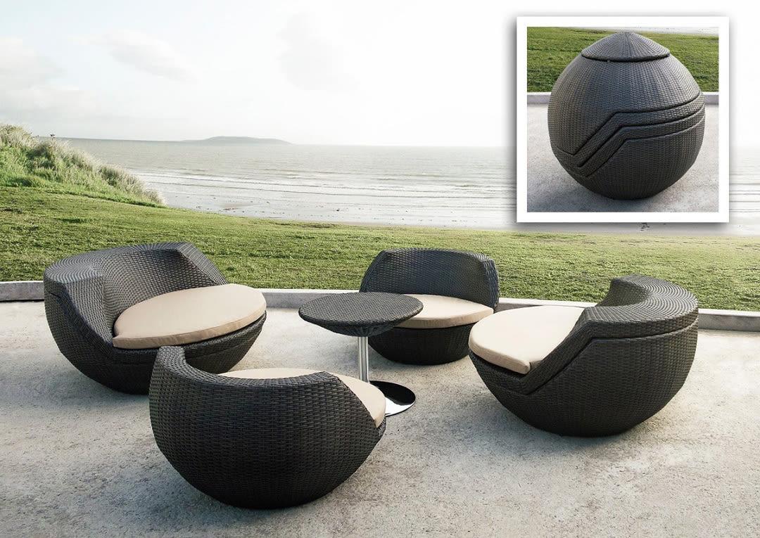 Stackable modern outdoor furniture quihkh