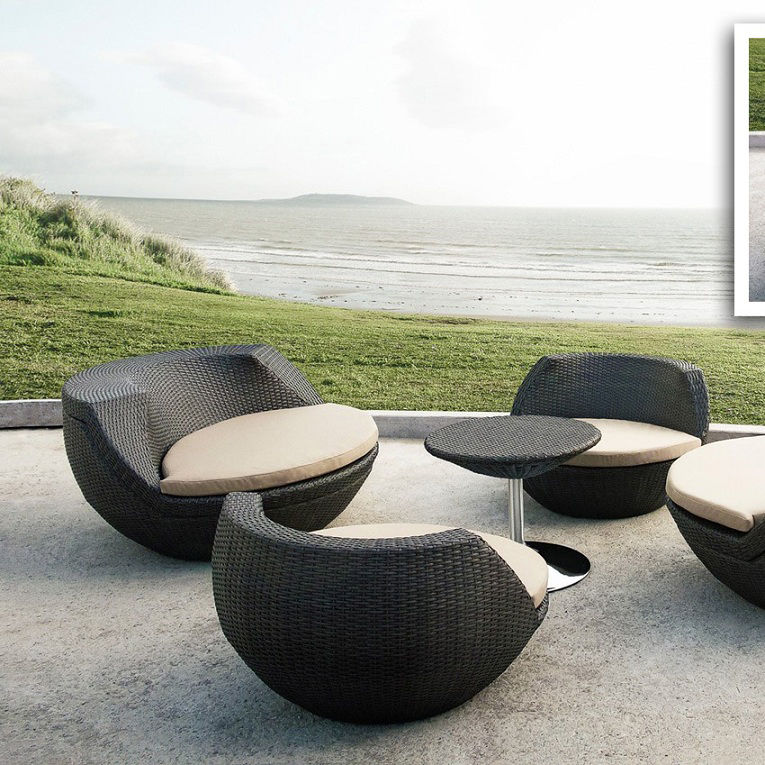 Stackable modern outdoor furniture quihkh
