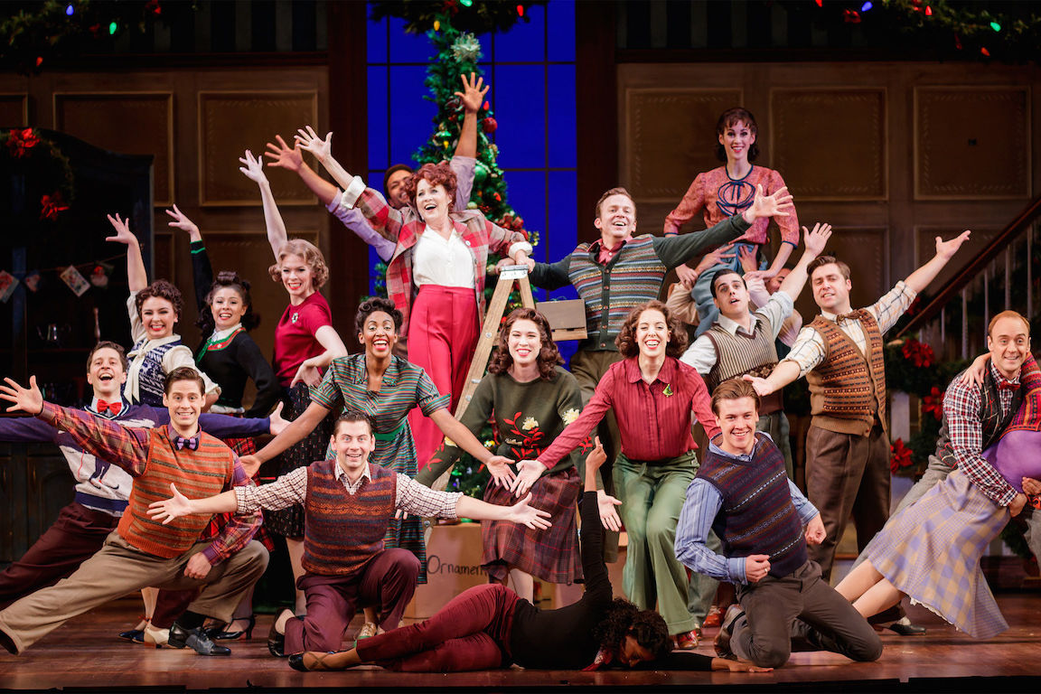 Lorna luft and eric ankrim lead the cast of irving berlins holiday inn at the 5th avenue theatre   photo credit mark kitaoka wjrxf9