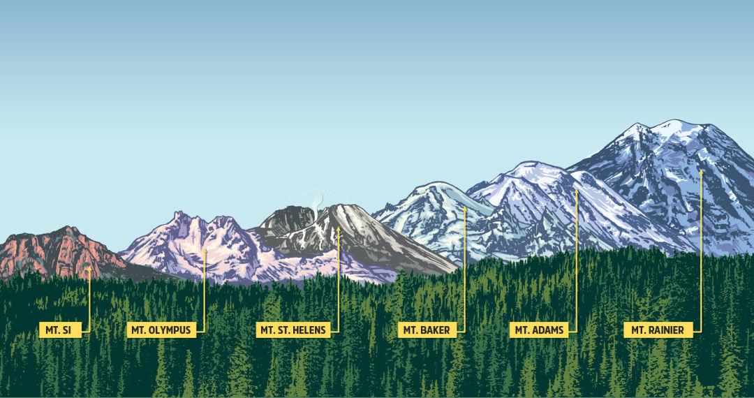 Washington S 6 Signature Mountains Are Waiting Travel