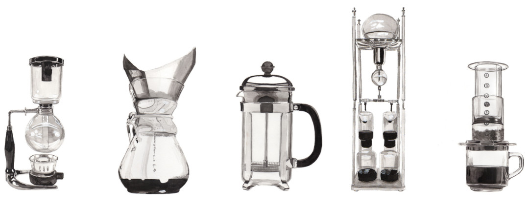Coffee brewing type mticky