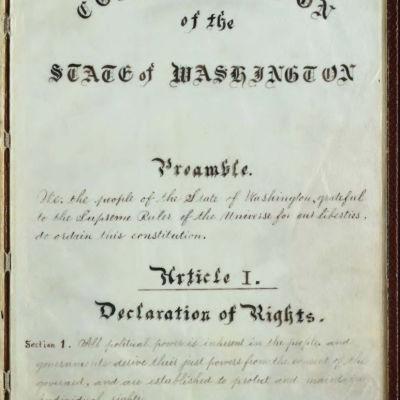 Washington constitution 1889 p1 lan75u