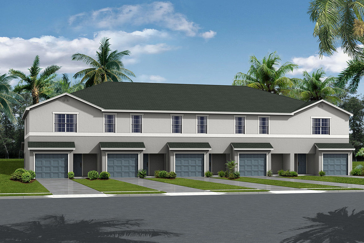 Exterior rendering palmer place trduod