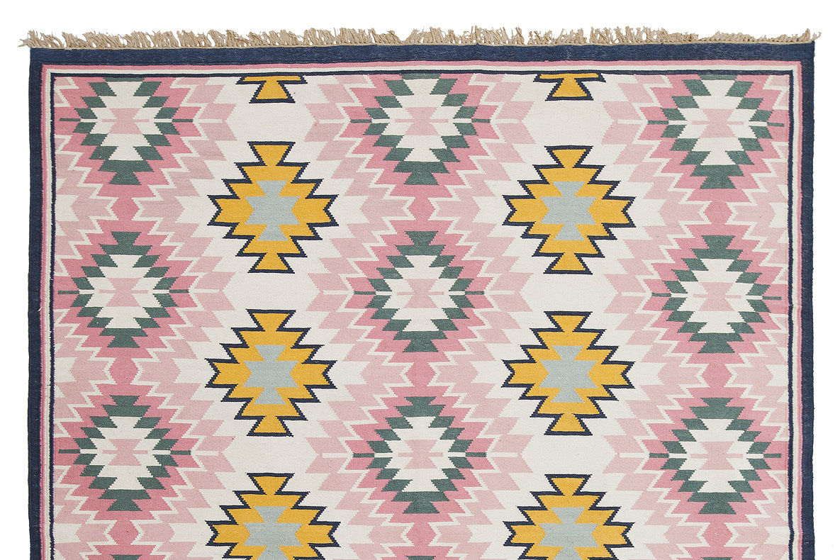 Painted desert rug from lulu and georgia zmdjof