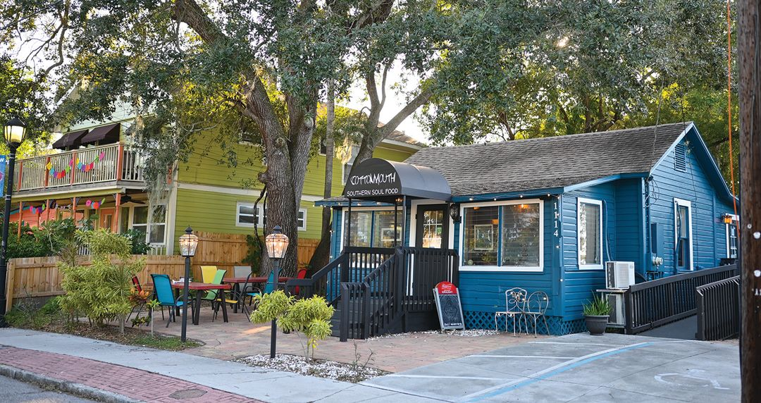 Cottonmouth Southern Soul Kitchen in Bradenton's Village of the Arts