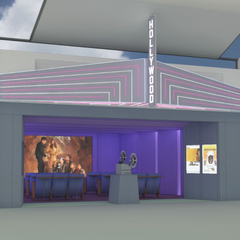 Hollywood theatre pdx airport plans kbajmf