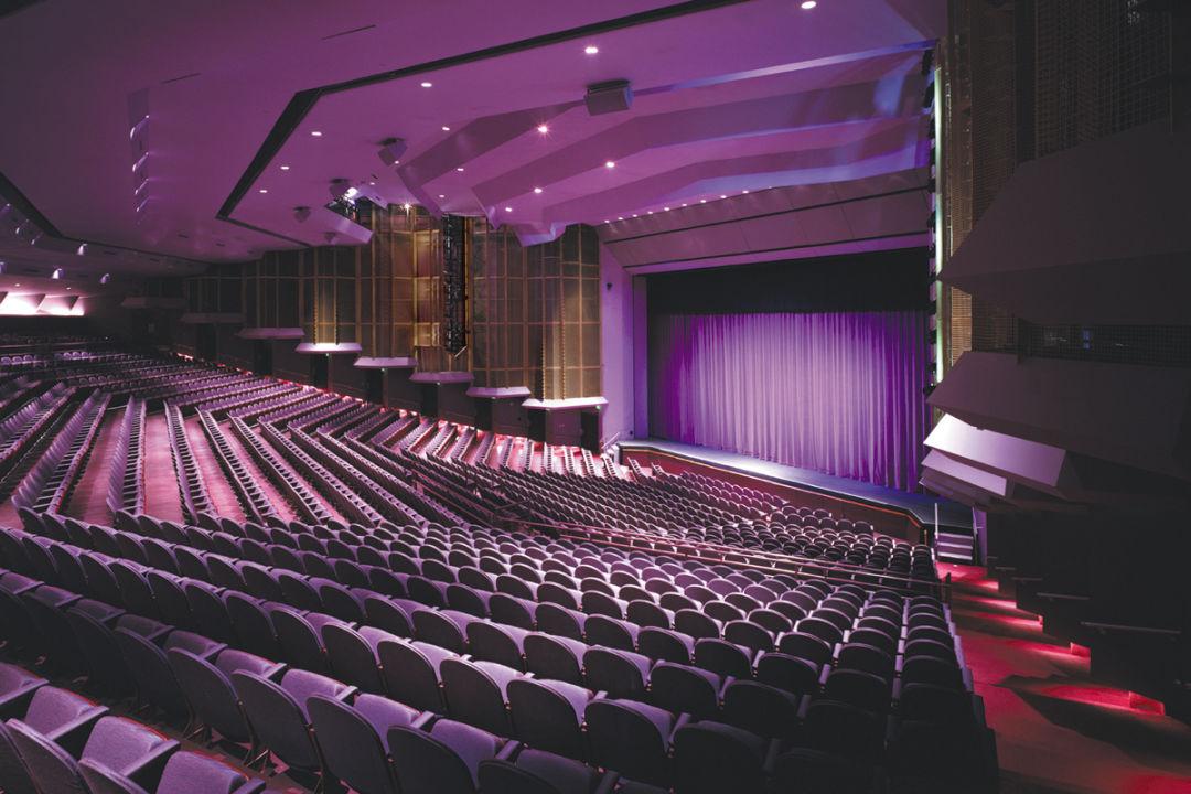 The Van Wezel Performing Arts Hall