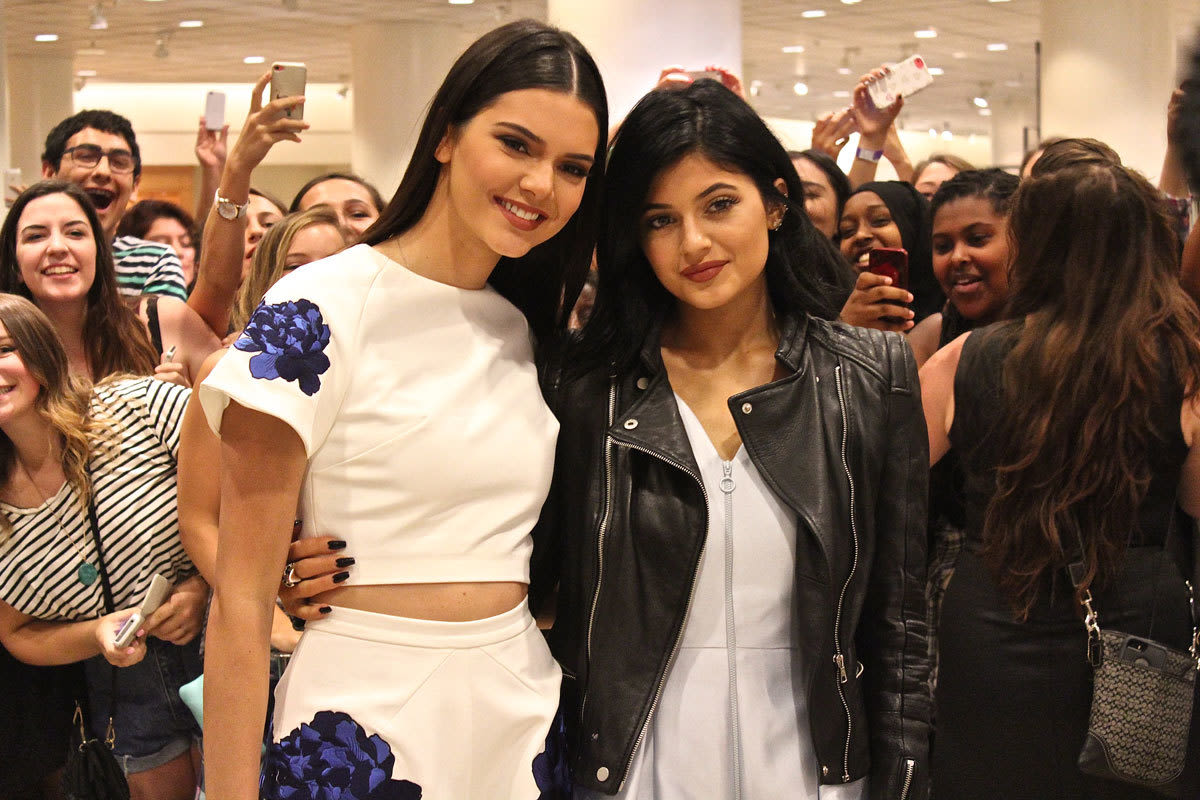 4ab4172d0e4 Kendall and Kylie Jenner Talk Steve Madden Shoes at Nordstrom ...